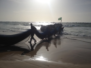 The peche (fishing) market in Nouakchott