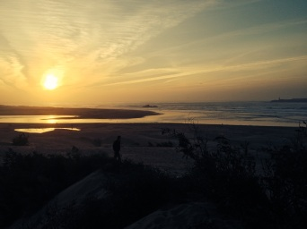 Essaouira sunset, hopefully very similar to what I will have in my new home!