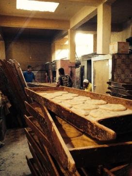 The bakery in Essaouira