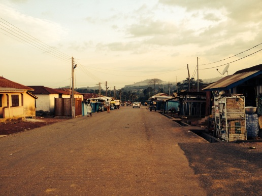 The streets of Nsuta