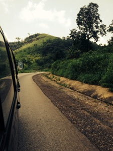 My favourite road in Ghana - the road to Nsuta!