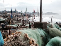 The fishing community of Cape Coast