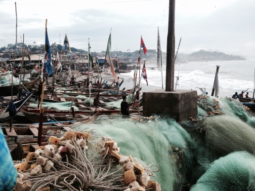The fishing community of Cape Coast