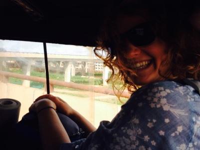 Another tro-tro, to Kumasi!