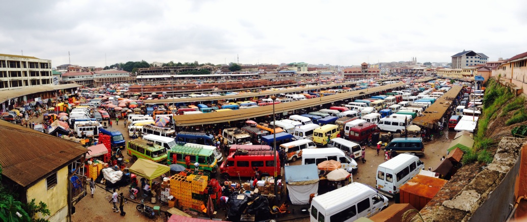 The crazy place that is Kejetia Tro station