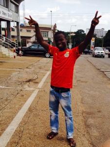 Go, Ghana, Go!