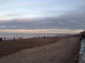 the beach!!