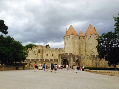 The medieval city of Carcassonne