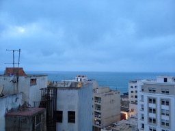 No sunset this day :(